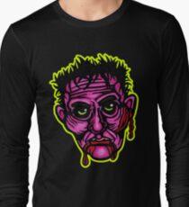 Pink Zombie - Die Cut Version Long Sleeve T-Shirt