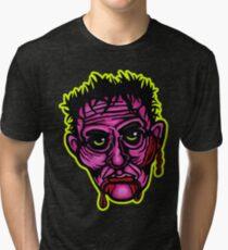 Pink Zombie - Die Cut Version Tri-blend T-Shirt