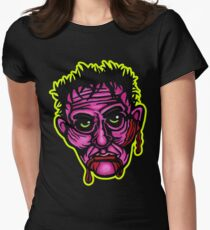 Pink Zombie - Die Cut Version Fitted T-Shirt
