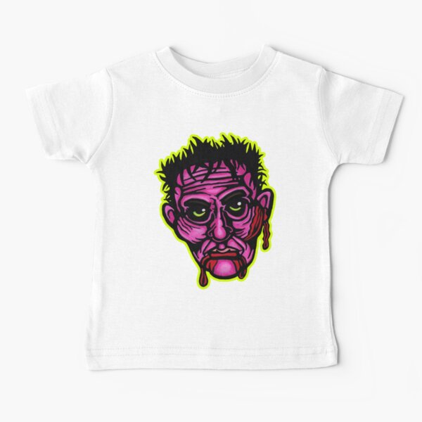 Pink Zombie - Die Cut Version Baby T-Shirt