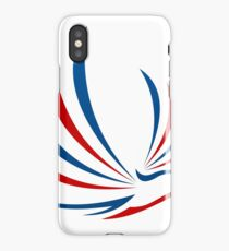 eagle-bird-abstract-logo iPhone Case/Skin