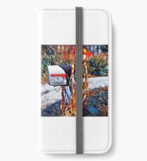 Bright farm scarecrow  iPhone Wallet/Case/Skin
