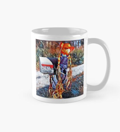 Bright farm scarecrow  Mug