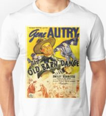 Vintage poster - The Old Barn Dance T-Shirt