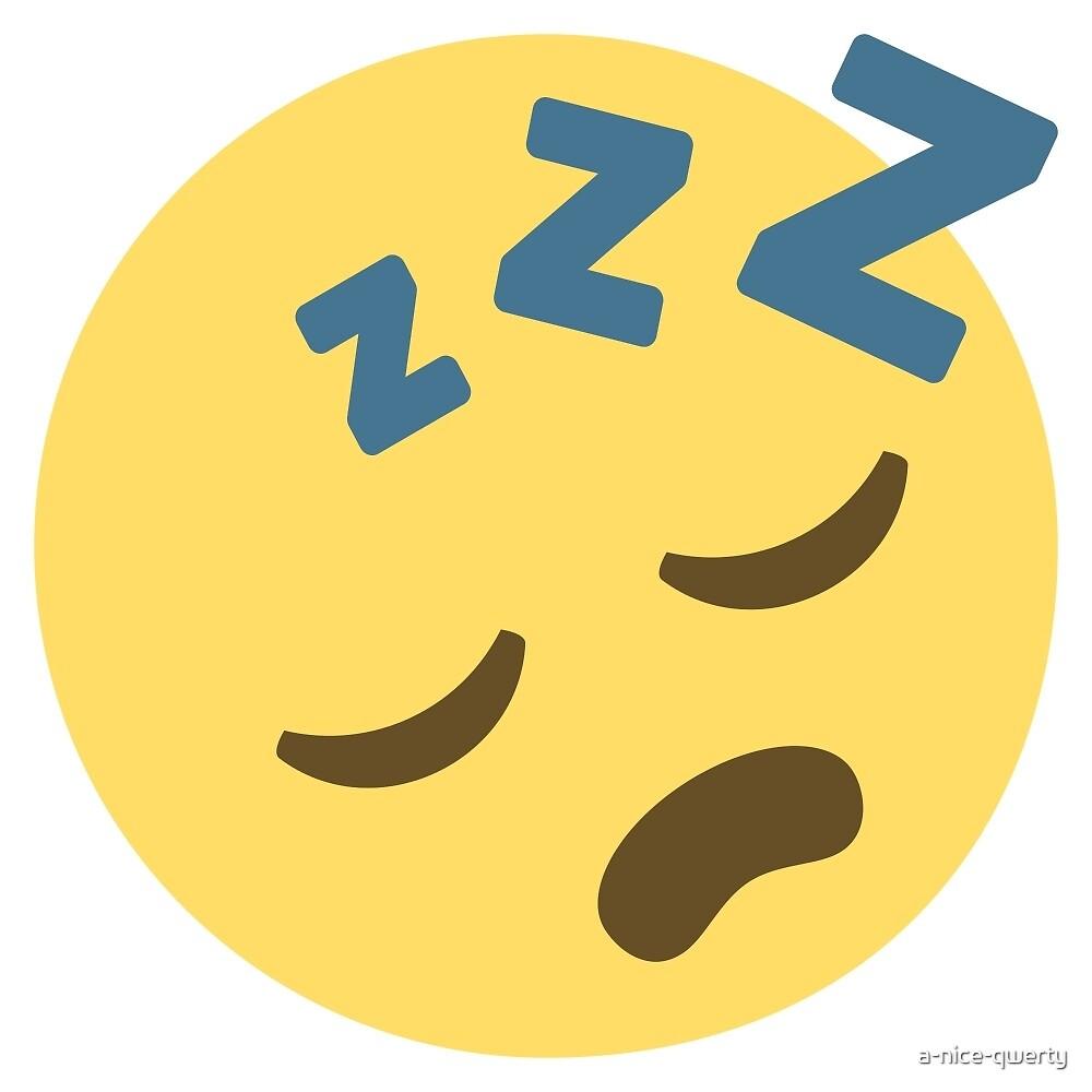 Sleeping Emoji by a-nice-qwerty
