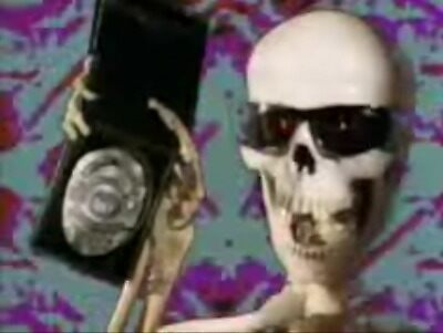 Skeleton Police by Shiri33