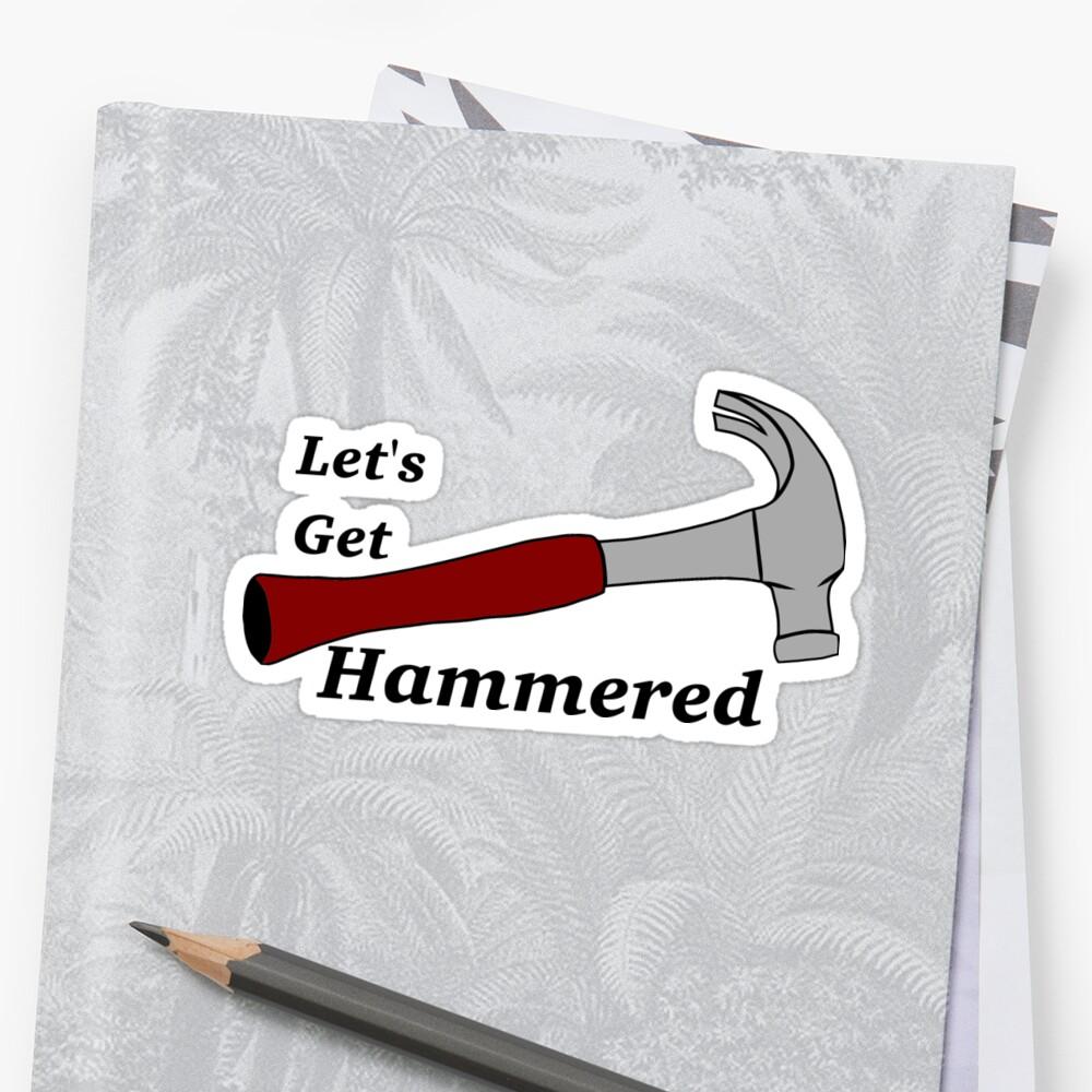 Let's get hammered by flyer4