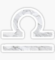 Marble Libra Sticker