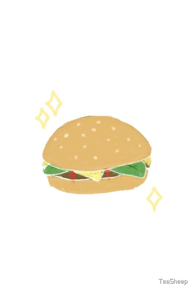 Burger by TeaSheep