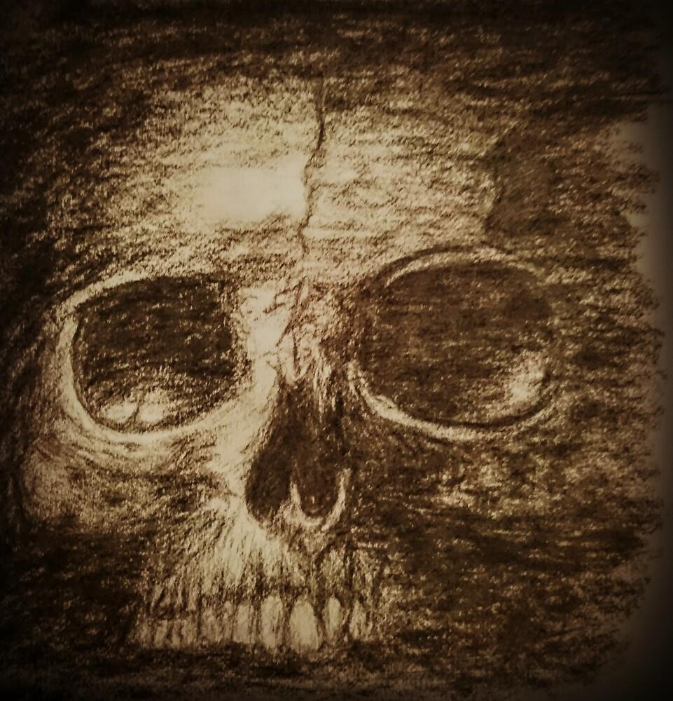 skull by scholarlypotato