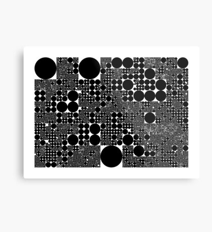 "Dividing Circles"" by Martin Melcher Metal Print"