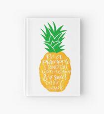 Pineapple Hardcover Journal