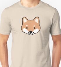 Cute Shiba Inu Face(s) Unisex T-Shirt