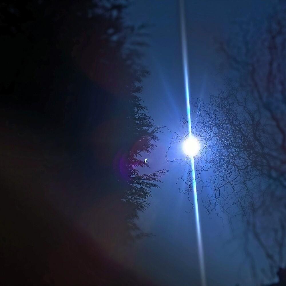sky on a cold night by scholarlypotato