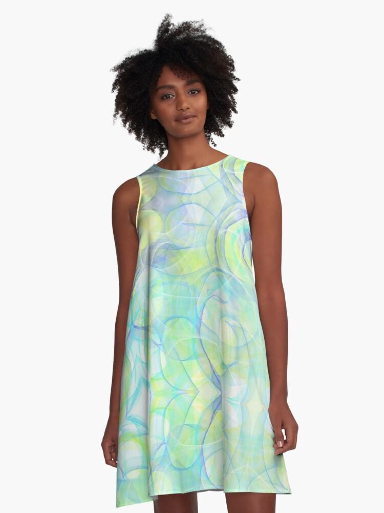 ocean dress A-Line Dress Front