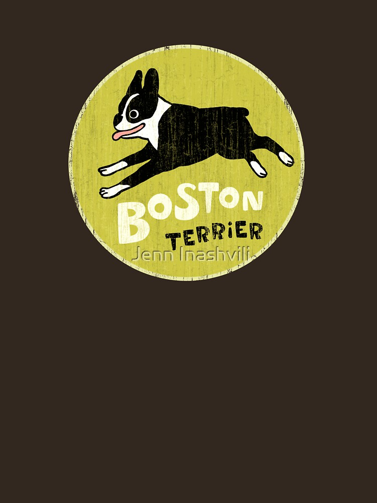 Vintage Style Boston Terrier | Unisex T-Shirt