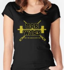 Bar Wars Women's Fitted Scoop T-Shirt