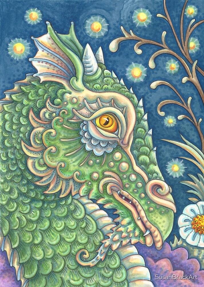 EDWINS DRAGON Fantasy by Susan Brack