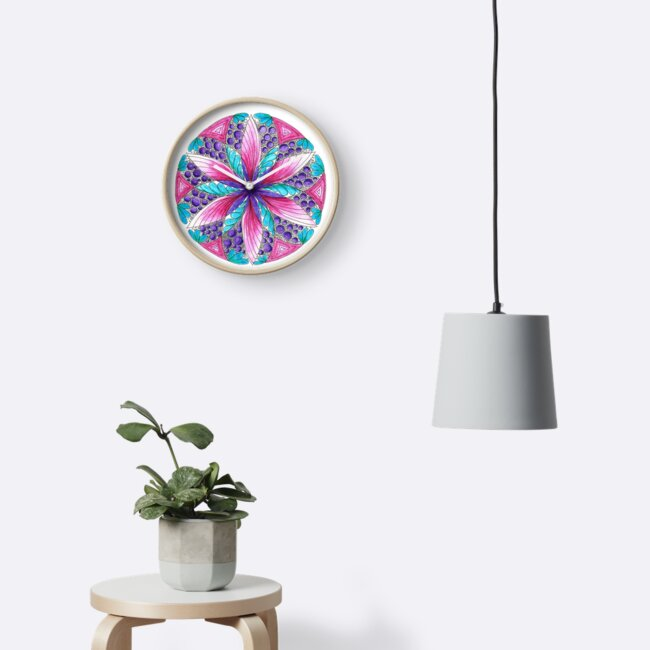 Flower power mandala by Arttally