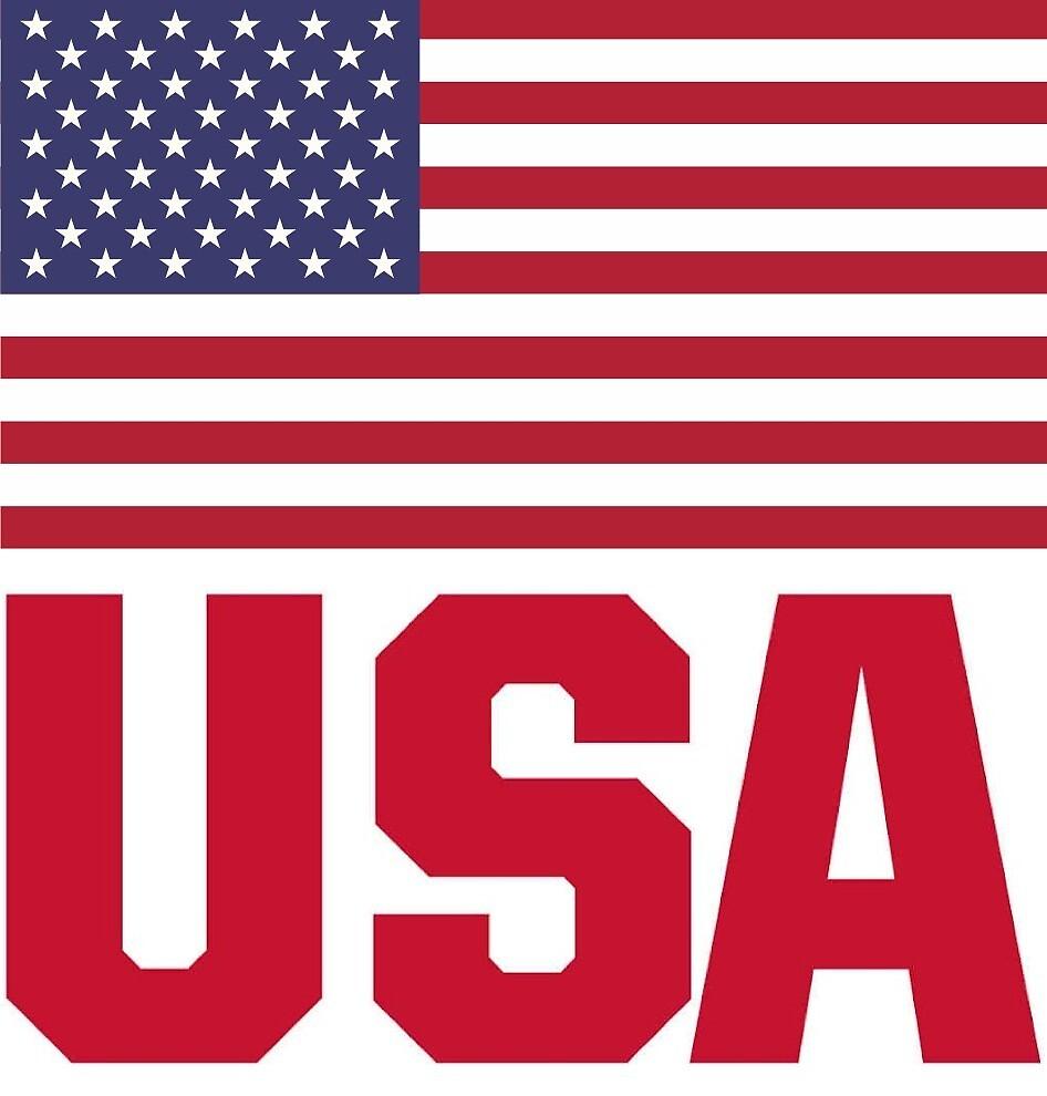 USA sticker by haff32