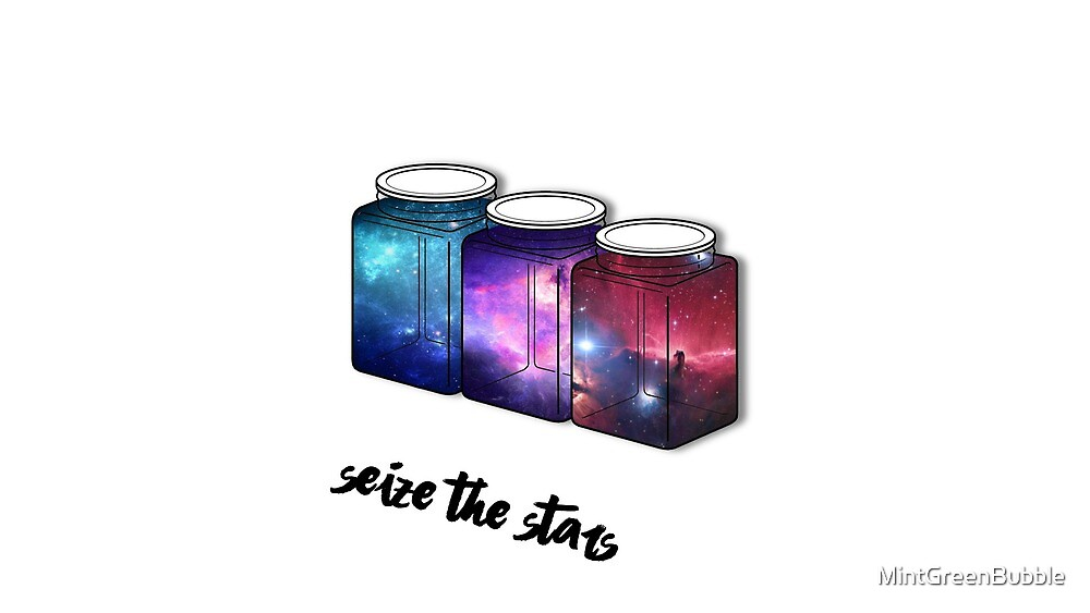 Space Jars by MintGreenBubble