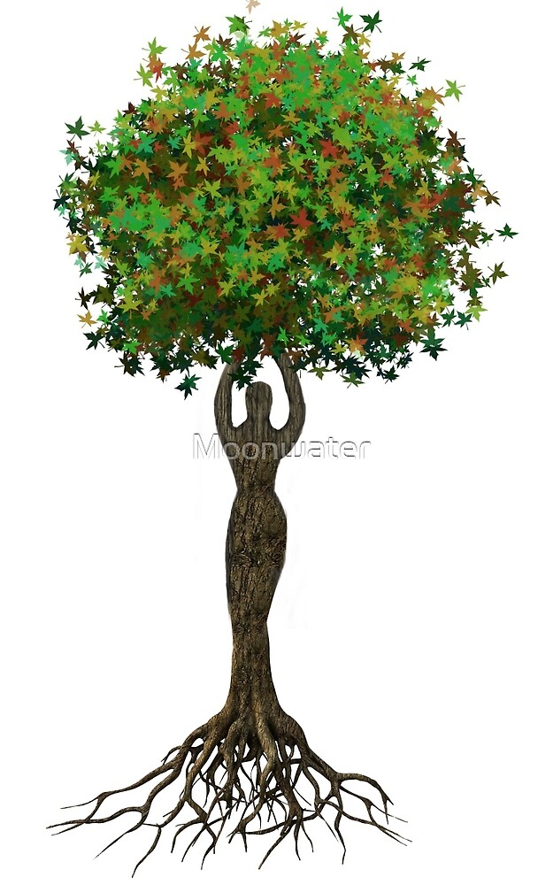 Goddess Tree by Moonwater