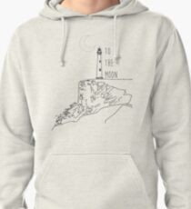 To The Moon Lighthouse Pullover Hoodie