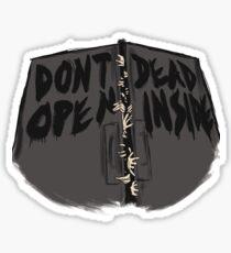 Dont Open, Dead Inside! Sticker