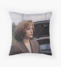Dana Scully in show  Throw Pillow