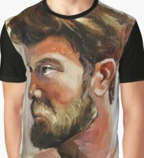 Colby Keller Profile Graphic T-Shirt