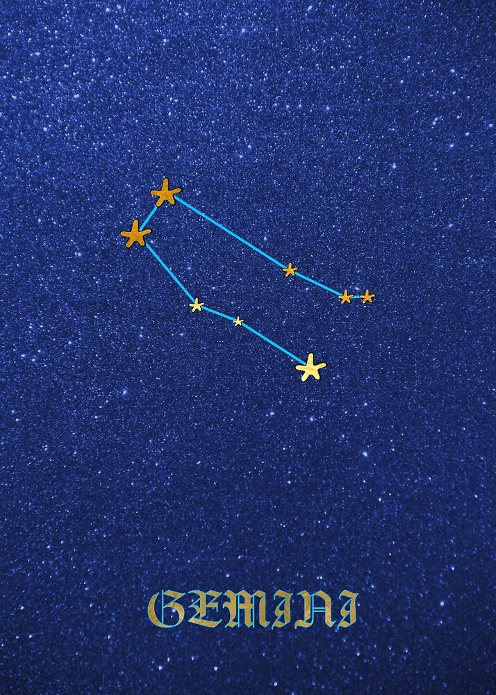 Constellations - GEMINI by Hell-Prints
