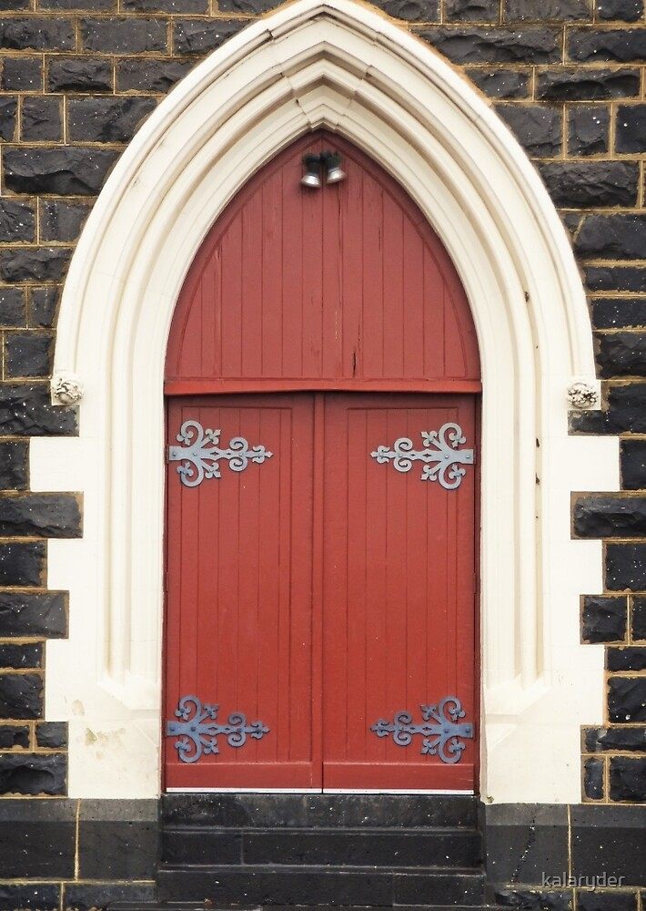Our Lady of Mount Carmel Door by kalaryder