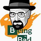 Breaking Bad: Walter White vs Heisenberg by logoloco