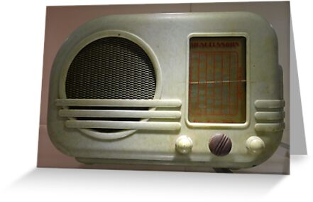 Deco Radio by Mark Lang