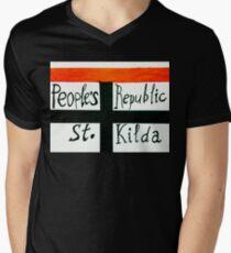 Peoples Republic of St Kilda 2 Men's V-Neck T-Shirt
