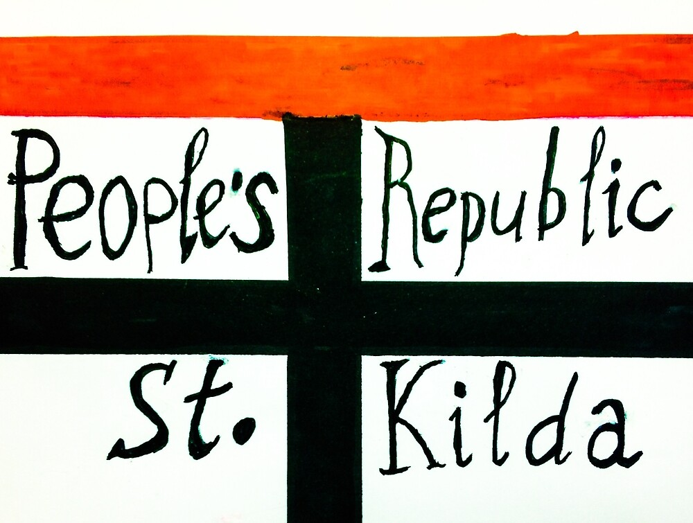 Peoples Republic of St Kilda 2 by ARTIST99