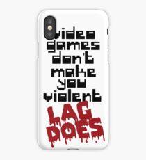 Video Games Lag iPhone Case/Skin