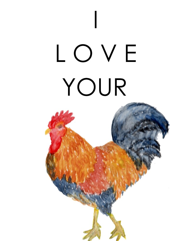 I Love Your Cock Painting by InkOperation
