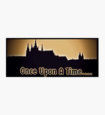 Once.... Photographic Print