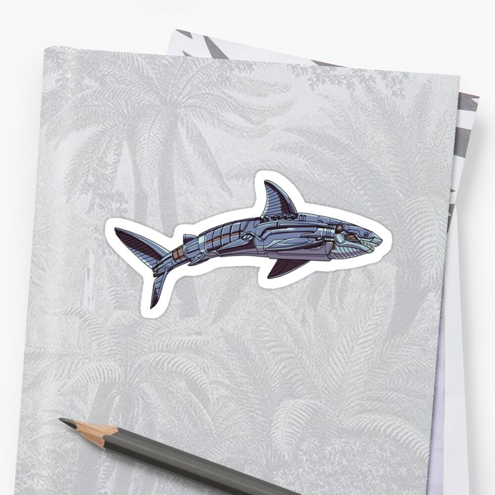 Mechanimal - Shark by derangedhyena