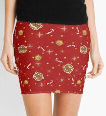 Gingerbread Mini Skirt