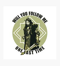 Will You Follow Me Photographic Print
