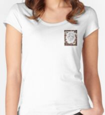 The Psychedelic Nature Within Women's Fitted Scoop T-Shirt