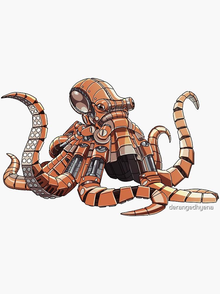 Mechanimal - Octopus by derangedhyena