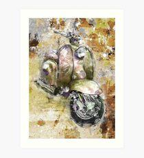 LAMBRETTA SERIES 1 LI150  Art Print