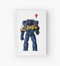 Warhammer on a Balloon Hardcover Journal