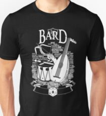 RPG Class Series: Bard - White Version T-Shirt