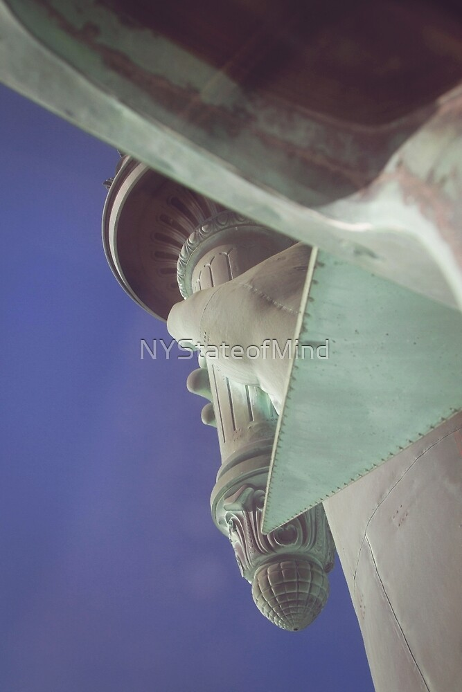 Statue of Liberty Torch by NYStateofMind