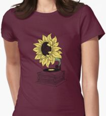 Singing in the sun Womens Fitted T-Shirt
