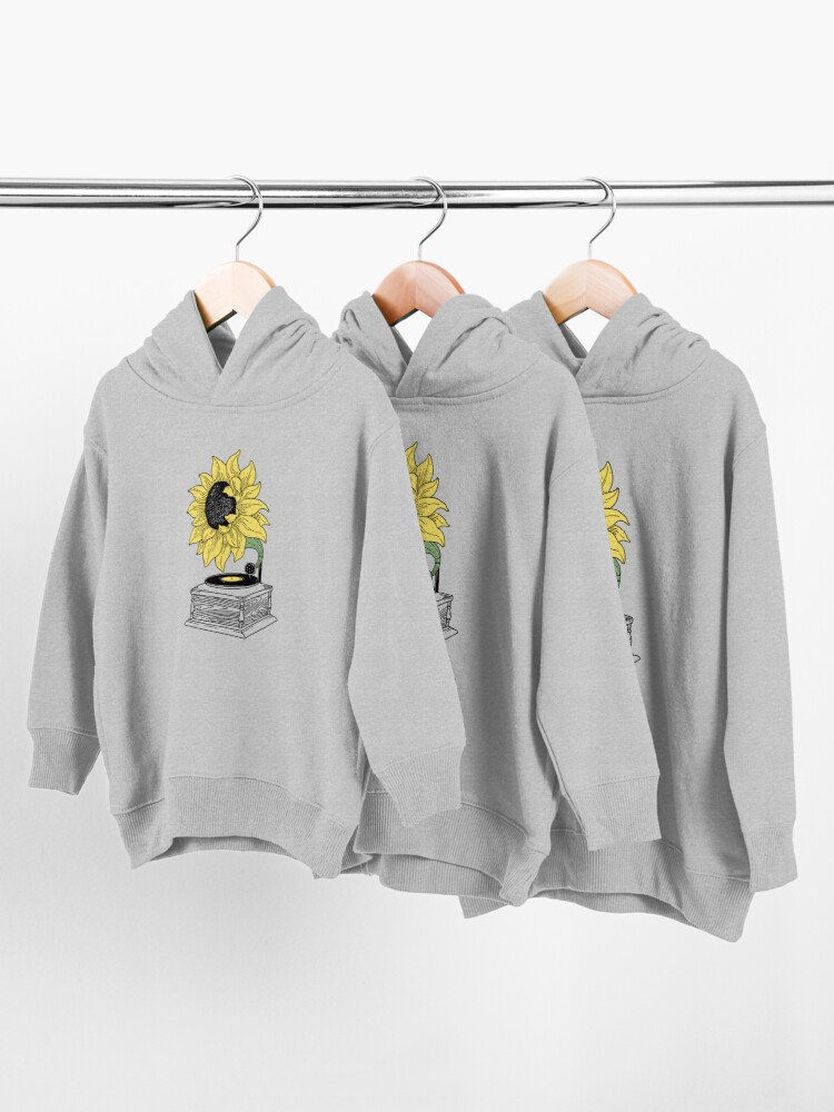 Alternate view of Singing in the sun Toddler Pullover Hoodie